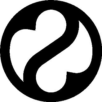 Emblem, das den Giebel des historischen Bahnhofs in Gamburg ziert, und zwar als Fenster. Bahnhof Gamburg, Saal und Ferienwohnung im schönen Taubertal. Teil der Wort-Bild-Marke.